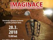 Pozvánka na výstavu IMAGINACE do Koněpruských jeskyň